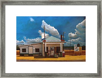 Westbrook Country Store Framed Print by Doug Strickland