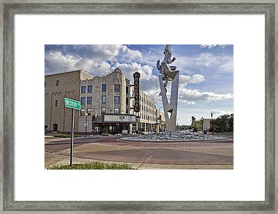 Western Ave Muskegon Mi Framed Print by Joe Gee