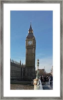 Westminster Bridge Framed Print by Terri Waters
