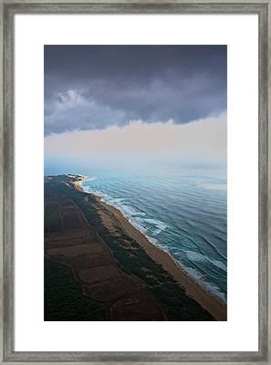 Westshore Kauai Aerial Framed Print by Steven Lapkin
