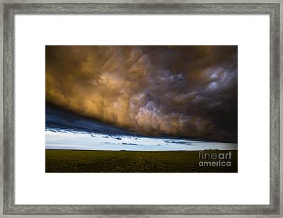 Whales Mouth At Sunset Framed Print by Francis Lavigne-Theriault