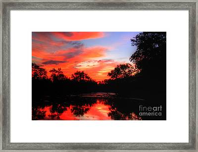 What A Morning 2 Framed Print by Robert Pearson
