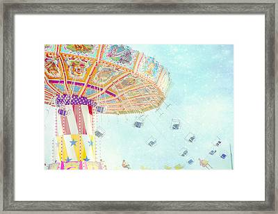 What A Ride Framed Print by Amy Tyler