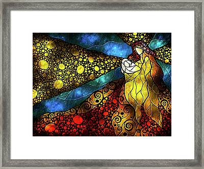 What Child Is This Framed Print by Mandie Manzano