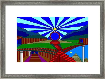 What If You Could. R79. Framed Print by Richard Magin