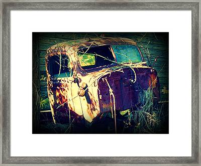 What Once Was Framed Print by Dana  Oliver