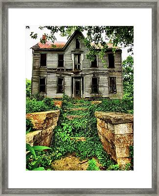What Once Was Grand Framed Print by Julie Dant
