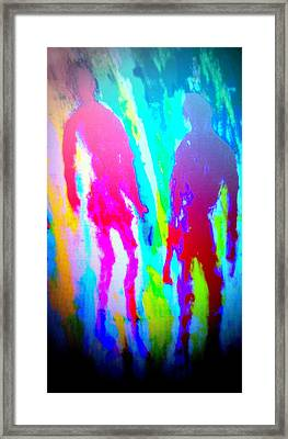 whatever the rumours say, I didnt   Framed Print by Hilde Widerberg