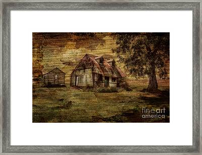 What's Left Framed Print by Lois Bryan