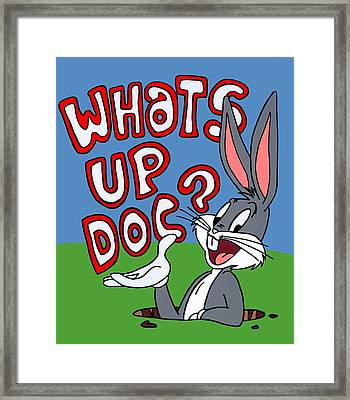 Whats Up Doc Framed Print by Ian  King