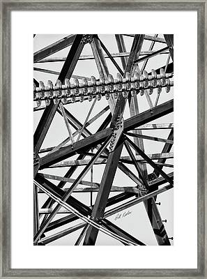 What's Your Angle Framed Print by Bill Kesler