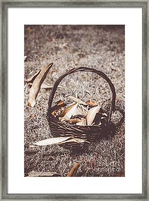 When Autumn Leaves Framed Print by Jorgo Photography - Wall Art Gallery