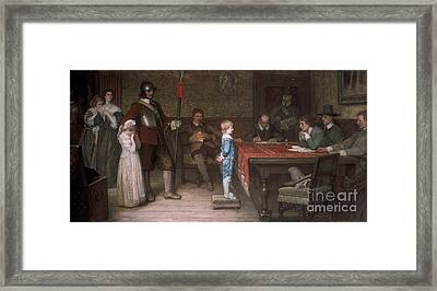 When Did You Last See Your Father Framed Print by Frederick Holiday