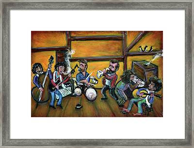 When I Paint My Masterpiece Framed Print by Jason Gluskin