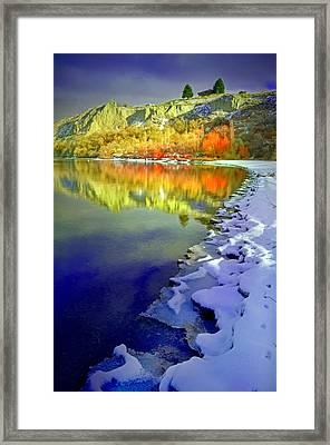 When Seasons Meet Framed Print by Tara Turner