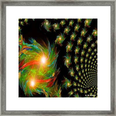 When Soulmates Meet Framed Print by Michael Durst