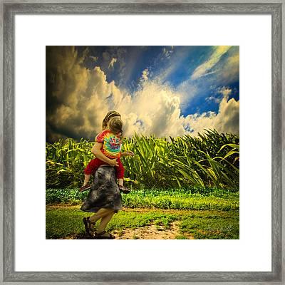 When The Sun Comes After Rain Framed Print by Bob Orsillo