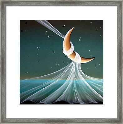 When The Wind Blows Framed Print by Cindy Thornton