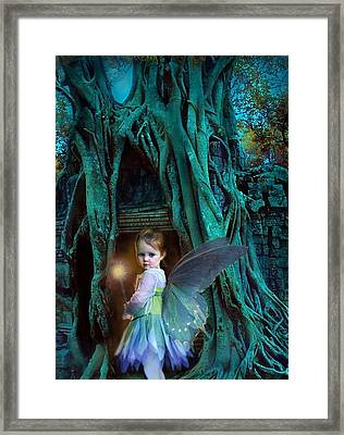 When Twilight Fades Framed Print by Jean Hildebrant
