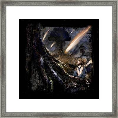 When You Tame A Thing Framed Print by Mandem