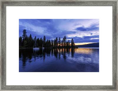 Where Are The Ducks? Framed Print by Chad Dutson