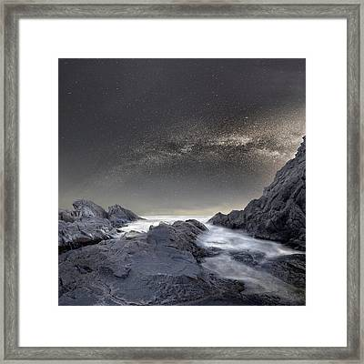 Where Is The Moon Framed Print by Stoyan Hristov