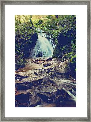 Where It All Begins Framed Print by Laurie Search