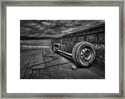 Where The Roads End... Framed Print by Evelina Kremsdorf