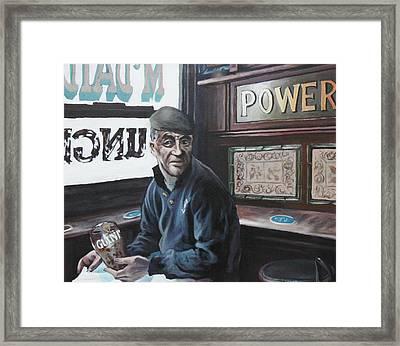 Where's My Pint Framed Print by Michael Geoghegan