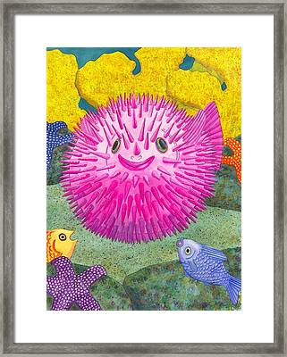 Where's Pinkfish Framed Print by Catherine G McElroy