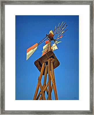Which Way The Wind Blows Framed Print by Glenn McCarthy Art and Photography