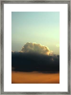 Whipped Up Framed Print by Ross Odom