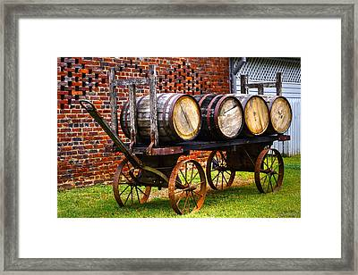Whiskey Run Framed Print by John Dauer