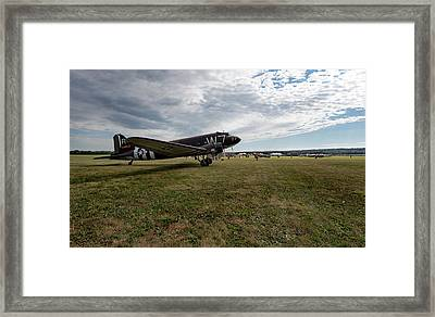 Whiskey Seven Framed Print by Peter Chilelli