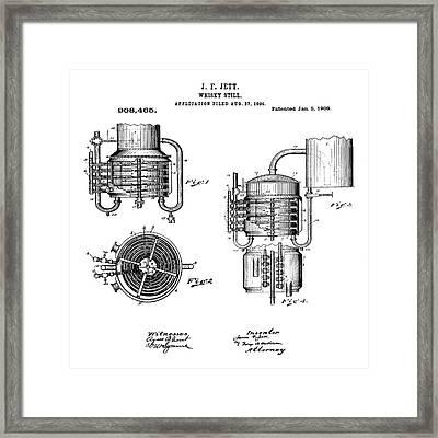 Whiskey Still 1906 Framed Print by Bill Cannon
