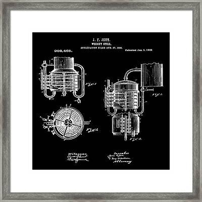 Whiskey Still 1906 In Black Framed Print by Bill Cannon