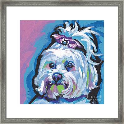 White Is White Framed Print by Lea