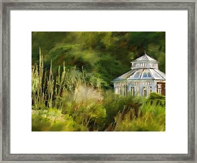 Pavillon Framed Print by Lutz Baar