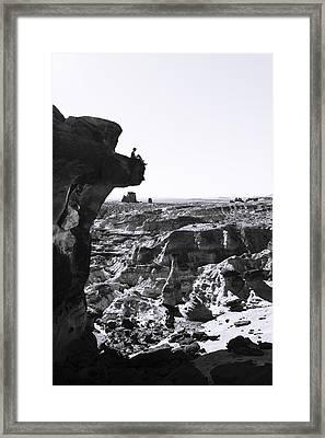 White Rocks Framed Print by Chad Dutson