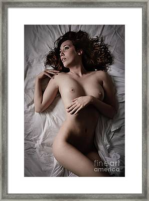 White Sheets Framed Print by Jt PhotoDesign