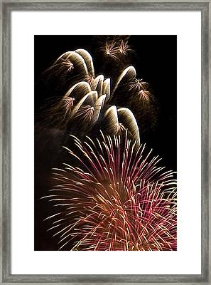 White Trails Framed Print by David Patterson
