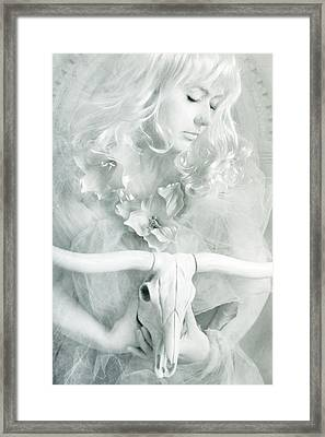 White Witch II Framed Print by Cambion Art