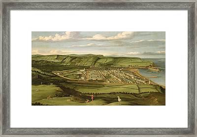 Whitehaven - Cumbria Framed Print by Matthias Read