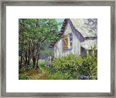 Whitewash Framed Print by L Diane Johnson