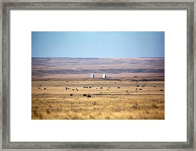 Whitewater Skyline Framed Print by Todd Klassy