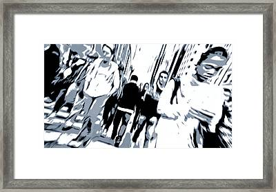 Who Are You Framed Print by Dan Sproul