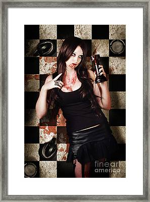 Who Done It Murder-mystery Framed Print by Jorgo Photography - Wall Art Gallery
