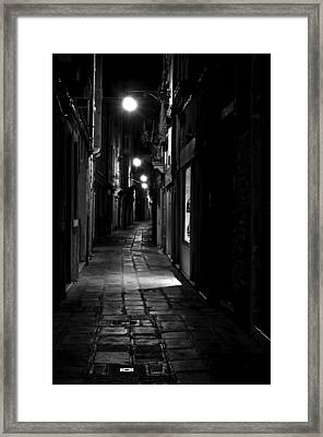 Who Goes There Framed Print by Marion Galt