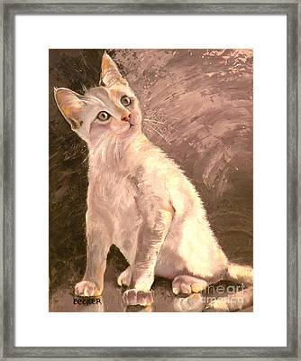 Whole Lotta Lovin Framed Print by Susan A Becker