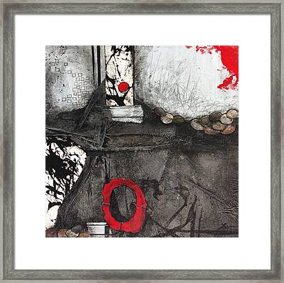 Whole Stability Framed Print by Laura Lein-Svencner